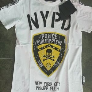 Philipp Plein Men Cotton T-Shirt